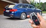 2017 BMW 5 Series Touring key