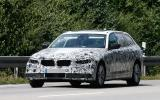 BMW 5 Series Touring spy shots