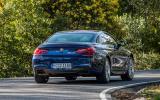 BMW 650i Coupé rear