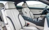 BMW 650i front seats