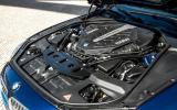 4.4-litre V8 BMW 650i engine
