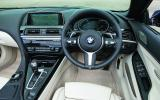 BMW 6 Series dashboard
