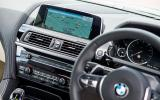BMW 6 Series iDrive infotainment