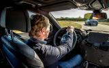 Driving the BMW 740Li prototype