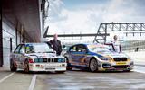 Steve Soper (on left) raced BMWs for 11 years; Rob Collard leads 2016 BTCC standings