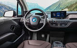 BMW i3s steering wheel
