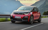 BMW i3s on the road