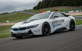 Upgraded BMW i8 acts as Formula ePrix safety car