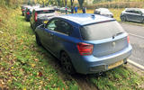 BMW M135i getting down and dirty in Wales