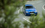 Used BMW M135i cornering