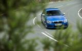 Used BMW M135i cornering