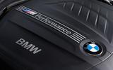 Used BMW M135i M Performance engine badging