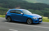 390bhp BMW M135i on the road