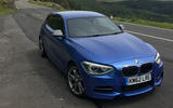 Used BMW M135i parked up