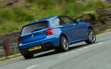 Used BMW M135i rear