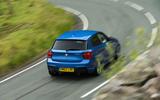 Used BMW M135i rear cornering