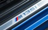 Used BMW M135i scuff plates