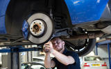 Used BMW M135i new suspension fitment