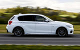 BMW M140i side profile