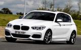 BMW M140i cornering