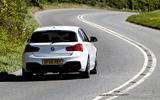 BMW M140i rear end