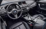 BMW M2 driver's seat