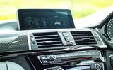 BMW M3 centre console