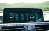 BMW M3 infotainment system