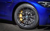 BMW M4 CS alloy wheels