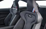 BMW M4 CS bucket seats