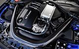 BMW M4 CS engine bay