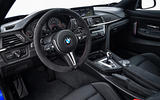 BMW M4 CS driver's seat