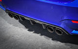 BMW M4 CS quad exhaust