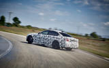 2018 BMW M5 Prototype Drift Track