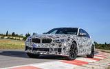 2018 BMW M5 Prototype Front Test Track