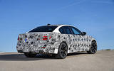 2018 BMW M5 Prototype Rear