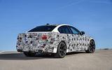 2018 BMW M5 Prototype Rear