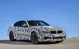 2018 BMW M5 Prototype Front Angle