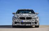 2018 BMW M5 Prototype Front