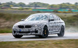 2018 BMW M5 Prototype Race Track