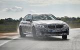 2018 BMW M5 Prototype Corner