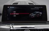 2018 BMW M5 Prototype Infotainment