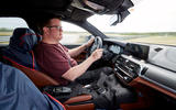 2018 BMW M5 Prototype Cockpit Matt Saunders