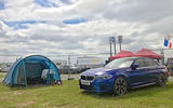 BMW M5 2018 long-term review Le Mans camping