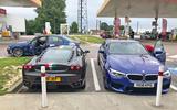 BMW M5 2018 long-term review Le Mans petrol station