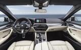 BMW M550i dashboard