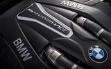 4.4-litre V8 BMW M550i petrol engine