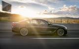BMW M550i side profile