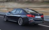 BMW M550i rear quarter
