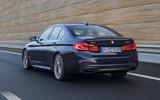 BMW M550i rear